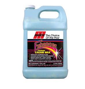 Malco Enhancer Premium Cream Wax - 3.78L