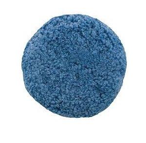 "Soft Cut/Polish Single Sided Blended Wool Blue 9"" Pad"